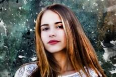 Создам векторный портрет 23 - kwork.ru