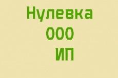 Нулевая декларация 20 - kwork.ru