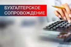 Оказание бухгалтерских услуг ИП и ООО 6 - kwork.ru