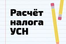 Подготовлю бухгалтерские документы 27 - kwork.ru