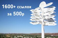 Профильный прогон 250 ссылок 11 - kwork.ru