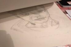 Нарисую портрет по фото, рисунок, иллюстрацию 20 - kwork.ru