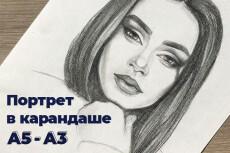 Арт обработка . Под живопись 24 - kwork.ru