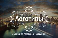 Дизайн вашего логотипа 21 - kwork.ru