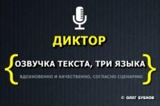 Озвучу ваш текст или видео или иное 9 - kwork.ru