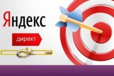 Яндекс Директ 100 обявлений 8 - kwork.ru
