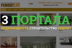 Строительный портал - Построй дом на Wordpresse - Демо в описании 12 - kwork.ru