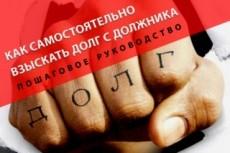 Дам консультацию как взыскать долг 7 - kwork.ru