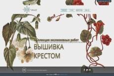 Шапка для сайта, лендинга 10 - kwork.ru