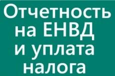 Декларация ЕНВД для ООО и ИП 5 - kwork.ru