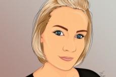 Нарисую портрет по фото, рисунок, иллюстрацию 24 - kwork.ru
