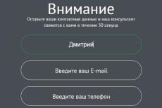 Работа с формами обратной связи 23 - kwork.ru