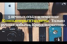 5 тысяч успешных ссылок на ваш сайт+агрессивный режим 31 - kwork.ru