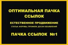 30 неприлично жирных ссылок. Общий ТИЦ трастов 100.000+ 25 - kwork.ru