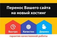 Установка CMS на хостинг и базовые настройки 15 - kwork.ru