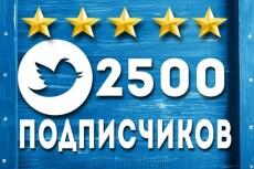1700 подписчиков в ваш аккаунт Twitter 23 - kwork.ru