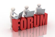 Размещу ссылку в подписи на форуме ФинФорум 20 - kwork.ru