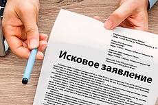 Составление Искового заявления 21 - kwork.ru