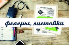 Дизайн флаера - Два варианта 13 - kwork.ru