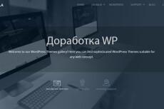 Wordpress выполню любые небольшие работы, правки по сайту 16 - kwork.ru