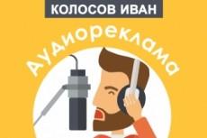 Дикторская озвучка профессионально - более 15 голосов на выбор 7 - kwork.ru