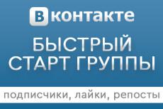 Безопасная раскрутка группы Вконтакте - подписчики, лайки и репосты 3 - kwork.ru