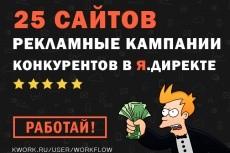 Сделаю аудит рекламной кампании в Яндекс.Директ и Google Adwords 4 - kwork.ru
