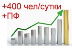 Привлеку 100 реальных рефералов 6 - kwork.ru