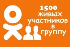 1500 ссылок живыми людьми из социальных сетей (FB, TW, OD) 4 - kwork.ru