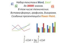 Наберу текст в Word 10 - kwork.ru