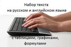 Набор научных текстов с формулами, графиками, рисунками. LaTeX 6 - kwork.ru