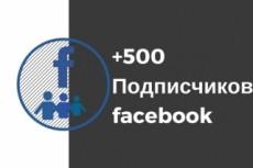 Добавлю 1500 подписчиков на паблик FanPage в Facebook 23 - kwork.ru