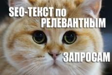 Напишу продающий текст на сайт 38 - kwork.ru