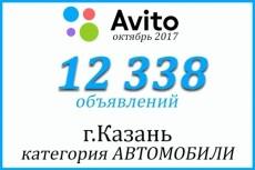 Создам базу объявлений с сайта avito.RU 21 - kwork.ru