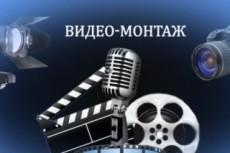 Видео монтаж - обрезка - склейка - звук 16 - kwork.ru