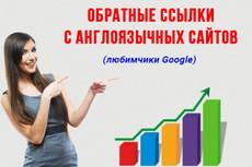 Вывод в ТОП Google. 50 вечных ссылок с PR9 33 - kwork.ru