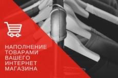 Заполню интернет-магазин 21 - kwork.ru