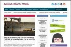 Продам автонаполняемый новостной сайт 15 11 - kwork.ru