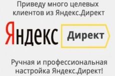 Яндекс Директ за 1 день. 3 кворка в 1. Поиск + РСЯ + Ретаргетинг 28 - kwork.ru