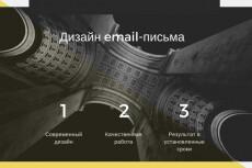 Дизайн лендинга 4 - kwork.ru