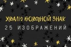 Проставлю водяные знаки (watermark) на 10000 ваших изображений 16 - kwork.ru