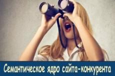 Сделаю выгрузку 4-х конкурентов через Semrush 26 - kwork.ru