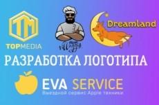 Красивый и цепляющий логотип для Вашего бизнеса 17 - kwork.ru