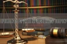Юридическая консультация от практикующего адвоката 18 - kwork.ru