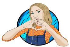 Нарисую арт по вашей фотографии 17 - kwork.ru