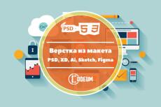 Качественная верстка из psd 188 - kwork.ru