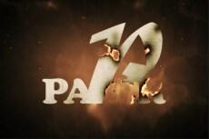 Сделаю 1 видео-визуализацию вашего логотипа или текста 10 - kwork.ru