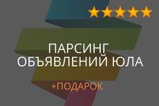 Соберу базу организаций с e-mail по отраслям, парсинг Яндекс карт 17 - kwork.ru
