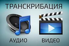 Расшифровка аудио- и видео файлов 16 - kwork.ru