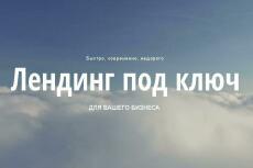 Сделаю продающий лендинг 21 - kwork.ru